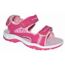 Dětské sandály Loap Copasa Dětské velikosti bot: 30 / Barva: růžová
