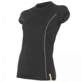 Dámské triko Sensor Merino Wool Active kr.r. Velikost: XL / Barva: černá