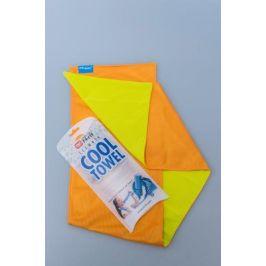Chladivý Šátek N-Rit Cool Towel Twin Barva: žlutá/oranžová