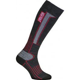 Podkolenky High Point Glacier 2.0 Merino Velikost ponožek: 35-38 / Barva: černá/šedá