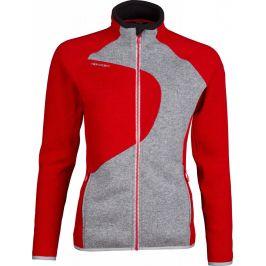 Dámský svetr High Point Skywool 3.0 Lady Sweater Velikost: S / Barva: červená/šedá