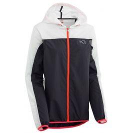Dámská větrovka Kari Traa Marte Jacket Velikost: XS / Barva: bílá/černá