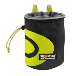 Pytlík na magnézium Rock Empire Chalk Bag Spiral Barva: černá/zelená
