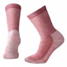 Dámské ponožky Smartwool W Hike Medium Crew Velikost ponožek: 42-45 / Barva: červená