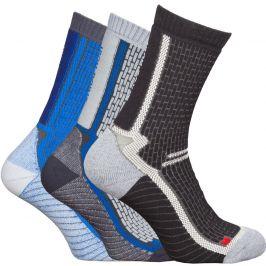 Ponožky High Point Trek 3.0 Socks (3-pack) Velikost ponožek: 35-38 / Barva: šedá