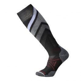 Podkolenky Smartwool PhD Ski Medium Pattern Velikost ponožek: 38-41 / Barva: černá