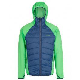 Pánská bunda Regatta Andreson III Hybr Velikost: XXL / Barva: zelená/modrá