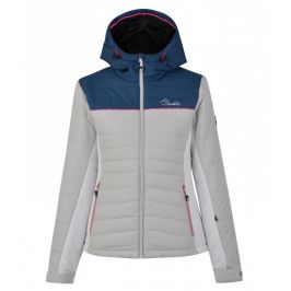 Dámská zimní bunda Dare 2b Surface Jacket Velikost: L (14) / Barva: šedá/modrá