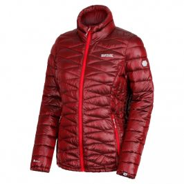 Dámská bunda Regatta Wmns Metallia Velikost: S (10) / Barva: červená