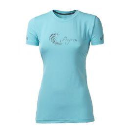 Dámské sportovní triko Progress TR Pantera HI-VIZ 23OP Velikost: L / Barva: světle modrá