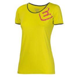 Dámské triko Progress TR Imola 23OT Velikost: M / Barva: žlutá
