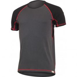 Pánské funkční triko Lasting Oto Velikost: XL / Barva: šedá/červená