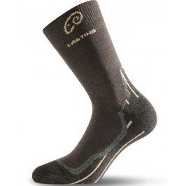 Ponožky Lasting WHI Velikost: 34-37 (S) / Barva: hnědá