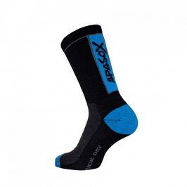 Ponožky Apasox Kabru Velikost ponožek: 35-38 / Barva: modrá