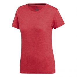 Dámské triko Adidas Tivid Tee Velikost: S / Barva: červená