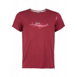 Pánské triko Chillaz Feel The Spirit Velikost: XL / Barva: červená