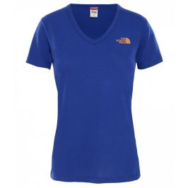 Dámské triko The North Face Simple Dome Tee Velikost: XS / Barva: modrá