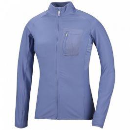 Dámská funkční mikina Husky Tarr zip L Velikost: S / Barva: modrá