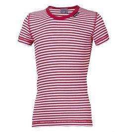 Dětské funkční triko Progress DT MLs NKRD 26CC Dětská velikost: 116 / Barva: červená/bílá