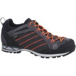 Pánské boty Hanwag Makra Low GTX Velikost bot (EU): 44 (UK 9,5) / Barva: šedá/oranžová
