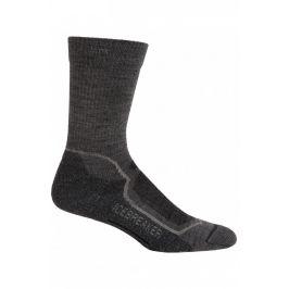 Pánské ponožky Icebreaker Hike+ Light Crew Velikost ponožek: 47-49 / Barva: šedá