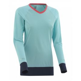 Dámské funkční triko Kari Traa Sigrun LS Velikost: XL / Barva: světle modrá