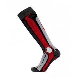 Podkolenky Apasox Marmolada P Velikost ponožek: 35-38 / Barva: červená