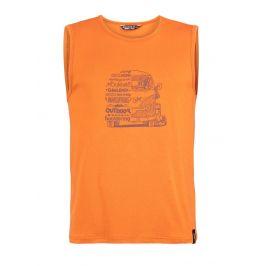 Pánské tílko Chillaz Calanques Lettering Bus Velikost: L / Barva: oranžová