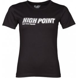 Dámské triko High Point High Point T-shirt Lady Velikost: M / Barva: černá