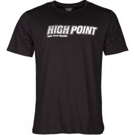 Pánské triko High Point High Point T-shirt Velikost: M / Barva: černá