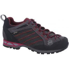 Dámské boty Hanwag Makra Low Lady GTX Velikost bot (EU): 37,5 (UK 4,5) / Barva: černá/červená