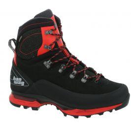 Pánské boty Hanwag Alverstone II GTX Velikost bot (EU): 42,5 (UK 8,5) / Barva: černá/červená
