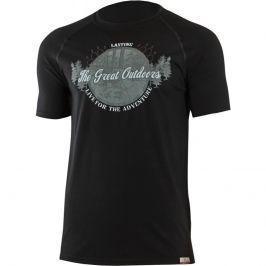 Pánské funkční triko Lasting Lucas Velikost: XXL / Barva: černá