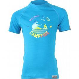 Dětské funkční triko Lasting Bear Dětská velikost: 110 / Barva: modrá