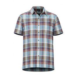 Pánská košile Marmot Innesdale SS Velikost: M / Barva: fialová/šedá