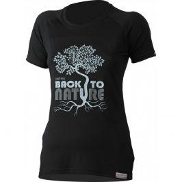 Dámské funkční triko Lasting Back Velikost: M / Barva: černá