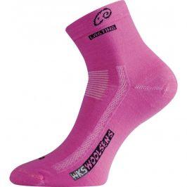 Ponožky Lasting WKS Velikost ponožek: 34-37 (S) / Barva: růžová