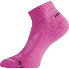 Ponožky Lasting WDL Velikost ponožek: 34-37 (S) / Barva: růžová