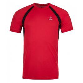 Pánské funkční triko Kilpi Runful M Velikost: L / Barva: červená