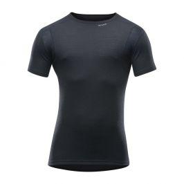 Pánské triko Devold Hiking Man T-shirt Velikost: XXL / Barva: černá