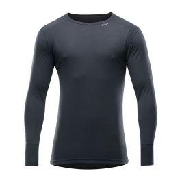Pánské triko Devold Hiking Man Shirt Velikost: XXL / Barva: černá