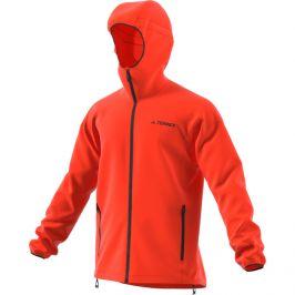 Pánská bunda Adidas Agravic Wind Jacket Velikost: M / Barva: oranžová