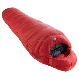 Spacák Mountain Equipment Xeros Long Zip: Levý / Barva: červená