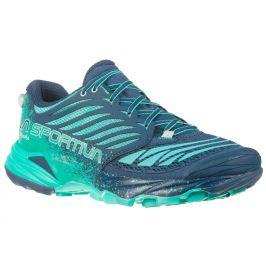Dámské boty La Sportiva Akasha Woman Velikost bot (EU): 38 / Barva: modrá/zelená