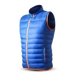 Pánská vesta Trimm Whisper Velikost: S / Barva: jeans blue/orange
