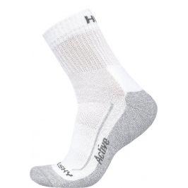 Ponožky Husky Active Velikost: 45 - 48 (XL) / Barva: bílá