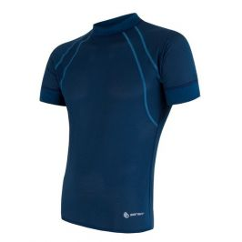 Pánské triko Sensor Coolmax Fresh Air Velikost: S / Barva: modrá tmavě