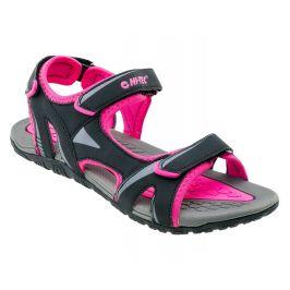 Dámské sandály Hi-Tec Caline Wo's Velikost bot (EU): 37 / Barva: černá/růžová