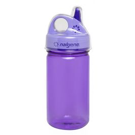 Dětská láhev Nalgene Grip n Gulp 350 ml Barva: fialová
