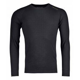 Pánské funkční triko Ortovox 145 Ultra Long Sleeve M Velikost: XL / Barva: černá